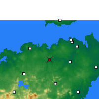 Nearby Forecast Locations - Dengmai - Χάρτης