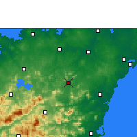 Nearby Forecast Locations - Tunchang - Χάρτης
