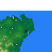 Nearby Forecast Locations - Wenchang - Χάρτης
