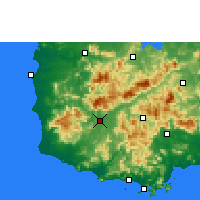 Nearby Forecast Locations - Ledong - Χάρτης