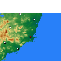 Nearby Forecast Locations - Wanning - Χάρτης