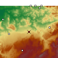 Nearby Forecast Locations - Φεζ - Χάρτης
