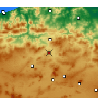 Nearby Forecast Locations - Constantine - Χάρτης
