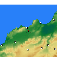 Nearby Forecast Locations - Es Sénia - Χάρτης