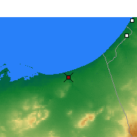 Nearby Forecast Locations - Arish - Χάρτης