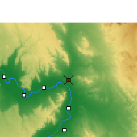 Nearby Forecast Locations - Qena - Χάρτης