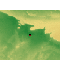 Nearby Forecast Locations - Dakhla Oasis - Χάρτης