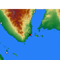 Nearby Forecast Locations - Sharm el-Sheikh - Χάρτης