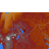 Nearby Forecast Locations - Kabale - Χάρτης