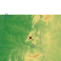 Nearby Forecast Locations - Niamtougou - Χάρτης