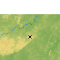 Nearby Forecast Locations - Bobo-Dioulasso - Χάρτης