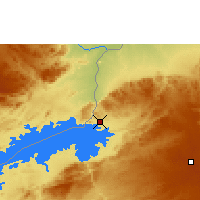Nearby Forecast Locations - Kariba - Χάρτης