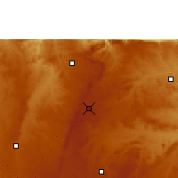 Nearby Forecast Locations - Mvurwi - Χάρτης