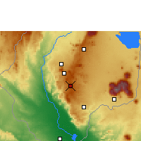 Nearby Forecast Locations - Bvumbwe - Χάρτης