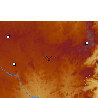 Nearby Forecast Locations - Rusape - Χάρτης