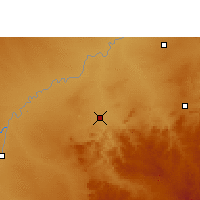 Nearby Forecast Locations - Lephalale - Χάρτης