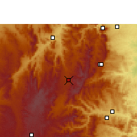 Nearby Forecast Locations - Lydenburg - Χάρτης