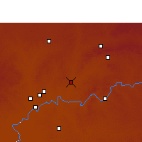 Nearby Forecast Locations - Potchefstroom - Χάρτης
