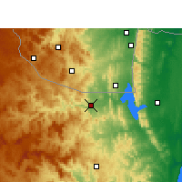 Nearby Forecast Locations - Pongola - Χάρτης