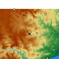 Nearby Forecast Locations - Babanango - Χάρτης