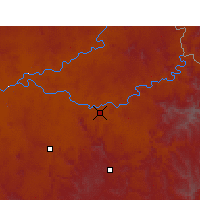 Nearby Forecast Locations - Aliwal North - Χάρτης