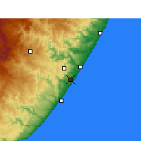Nearby Forecast Locations - Margate - Χάρτης