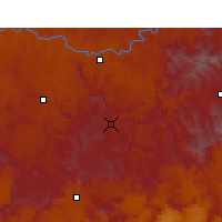 Nearby Forecast Locations - Jamestown - Χάρτης