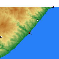 Nearby Forecast Locations - The Haven - Χάρτης