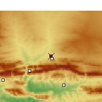 Nearby Forecast Locations - Prince Albert - Χάρτης