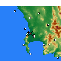 Nearby Forecast Locations - Milnerton - Χάρτης
