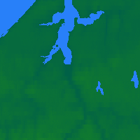 Nearby Forecast Locations - Wainwright - Χάρτης