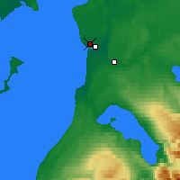 Nearby Forecast Locations - Kenai - Χάρτης
