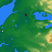 Nearby Forecast Locations - King Salmon - Χάρτης