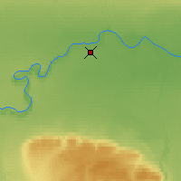 Nearby Forecast Locations - Fort Vermilion - Χάρτης