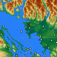 Nearby Forecast Locations - Delta - Χάρτης