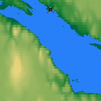 Nearby Forecast Locations - Wager Bay - Χάρτης