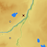 Nearby Forecast Locations - Peace River - Χάρτης