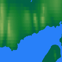 Nearby Forecast Locations - Isachsen - Χάρτης