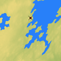 Nearby Forecast Locations - Collins Bay - Χάρτης