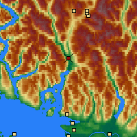 Nearby Forecast Locations - Squamish - Χάρτης