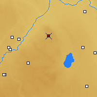 Nearby Forecast Locations - Elk Island - Χάρτης