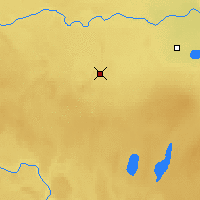 Nearby Forecast Locations - Loon Lake - Χάρτης