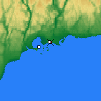 Nearby Forecast Locations - Sept-Îles - Χάρτης