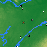 Nearby Forecast Locations - Kemptville - Χάρτης