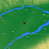 Nearby Forecast Locations - Beaver Mines - Χάρτης