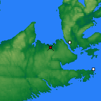 Nearby Forecast Locations - Tracadie - Χάρτης