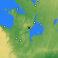 Nearby Forecast Locations - Barrie-Oro - Χάρτης