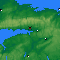 Nearby Forecast Locations - Debert - Χάρτης