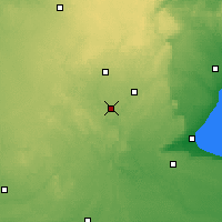 Nearby Forecast Locations - Waterloo Well - Χάρτης