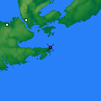 Nearby Forecast Locations - Hart Island - Χάρτης